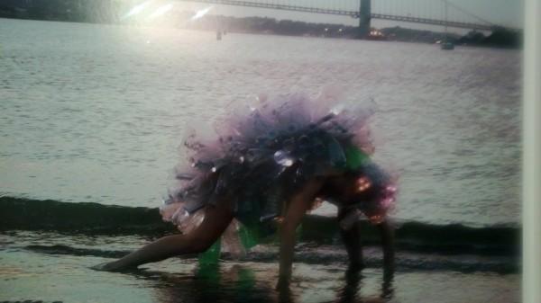 Artist Dominique Paul  transforms in Kafka-esque creature in Migration of the Arthropods